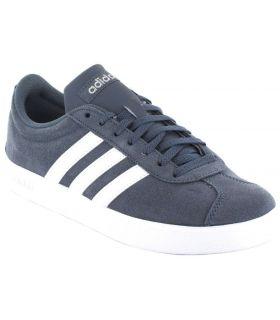 Adidas VL Cour 2.0 Bleu W Adidas Chaussures de Femmes de mode de Vie Décontracté Tailles: 37 1/3, 38, 40, 40 2/3; Couleur: bleu
