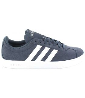 Adidas VL Court 2.0 Blue W Adidas Shoes Women's Casual Lifestyle Sizes: 37 1/3, 38, 40, 40 2/3; Color: blue