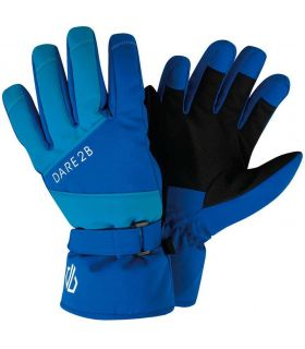 Dare 2b Guantes Fulgent Dare 2B Gorros - Guantes Textil montaña Tallas: 6 / 7, 8 / 10, 11 / 12, 13; Color: azul