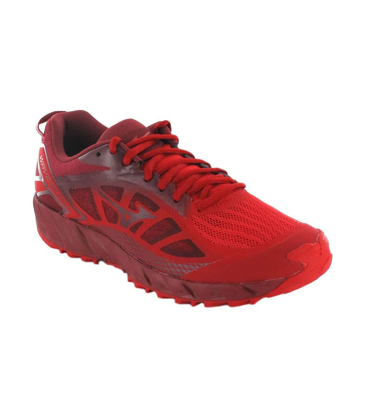 Mizuno Wave Ibuki 2 Red Mizuno Running Shoes Trail Running Mens Running Shoes Trail Running Sizes: 42, 42,5, 43, 44