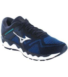 Mizuno Wave Horizon 4 Bleu Mizuno Chaussures De Course Homme, Chaussures De Running Tailles: 42, 42,5, 43, 44, 44,5, 45;