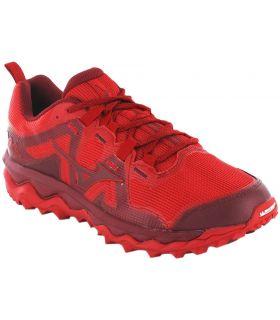 Mizuno Wave Mujin 6 Rouge Mizuno Chaussures De Course Trail Chaussures De Course De Mens Trail Running Taille: 41, 42, 42,5,
