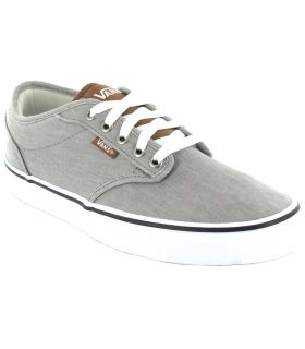 Vans Atwood Grise Chaussures Vans Casual Homme Lifestyle Tailles: 40, 41, 42, 43, 44, 45; Couleur: gris