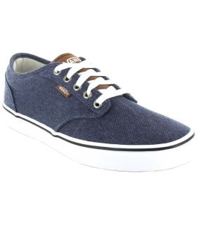 Vans Atwood Blue Vans Casual Footwear Man Lifestyle Sizes: 41, 42, 43, 44, 45; Color: blue