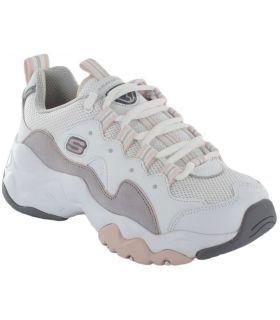 Skechers D'Lites 3 Zenway Skechers Calzado Casual Mujer Lifestyle Tallas: 37, 38, 39, 40, 41; Color: blanco