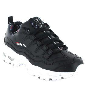 Skechers Énergie Rétro Vision Noir Skechers Chaussures de Femmes de mode de Vie Décontracté Tailles: 37, 38, 39, 40, 41;