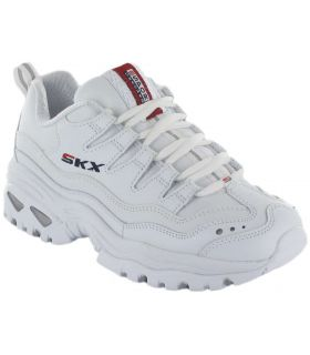 Skechers Energy Retro Vision Blanco Skechers Calzado Casual Mujer Lifestyle Tallas: 37, 38, 39, 40, 41; Color: blanco