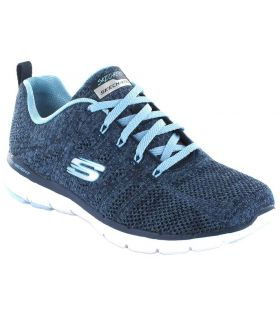 Skechers High Tides Skechers Calzado Casual Mujer Lifestyle Tallas: 36, 37, 38, 39, 40, 41; Color: azul