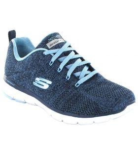 Skechers marée Haute Chaussures Skechers Femmes de vêtements de style Décontracté Tailles: 36, 37, 38, 39, 40, 41; Couleur: bleu
