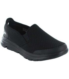 Skechers Go walk 5 Apprize Skechers Calzado Casual Hombre Lifestyle Tallas: 41, 42, 43, 44, 45, 46; Color: negro