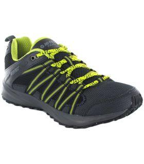 Hi-Tec Capteurs De Trail Lite Chaux Hi-Tec Chaussures De Course Trail Chaussures De Course De Mens Trail Running Taille: 40,