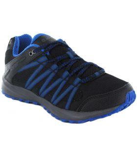 Hi-Tec Capteurs De Trail Lite Bleu Hi-Tec Chaussures De Course Trail Chaussures De Course De Mens Trail Running Taille: 40, 41,