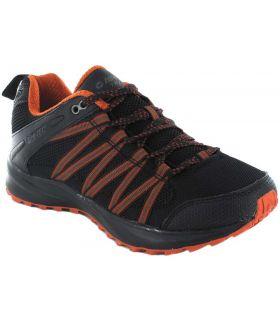 Hi-Tec Capteurs De Trail Lite Orange Hi-Tec Chaussures De Course Trail Chaussures De Course De Mens Trail Running Taille: 40,