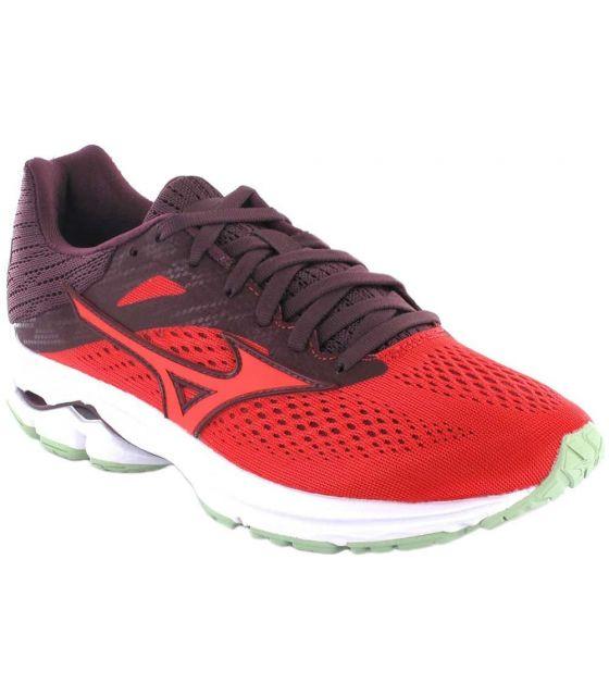 Mizuno Wave Rider 13 W Red Mizuno Running Shoes Woman Running Shoes Running Sizes: 37, 38, 38,5, 39, 40, 40,5, 41;