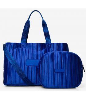 Desigual gym Bag 2 in 1 Blue Desigual Backpacks - Bags Running Color: blue