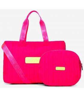 Desigual gym Bag 2 in 1 Fuchsia Desigual Backpacks - Bags Running Color: fuchsia