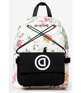 Desigual Double School Bag Desigual Mochilas - Bolsas Running Color: blanco