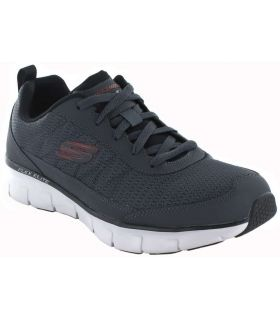 Skechers Synergy 3.0 Skechers Casual Footwear Man Lifestyle Sizes: 41, 42, 43, 44, 45, 46; Color: gray