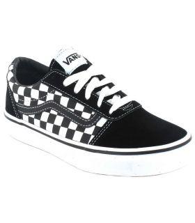 Vans Ward And Plaid Vans Casual Footwear Lifestyle Junior Sizes: 32, 33, 34, 35; Color: black