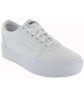 Vans Ward Plataforma Blanco Vans Calzado Casual Mujer Lifestyle Tallas: 37, 38, 39, 40; Color: blanco