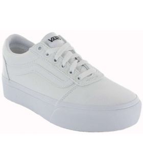 Vans Ward Platform White Vans Shoes Women's Casual Lifestyle Sizes: 37, 38, 39, 40; Color: white