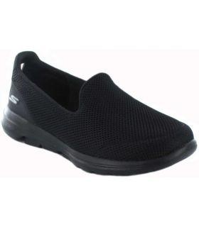 Skechers Go Walk 5 W Noir Skechers Chaussures de Femmes de mode de Vie Décontracté Tailles: 37, 38, 39, 40, 41; Couleur: noir
