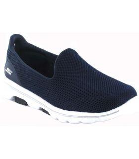Skechers Go Walk 5 W Marine Skechers Chaussures de Femmes de mode de Vie Décontracté Tailles: 39, 40, 41, 37, 38; Couleur: bleu