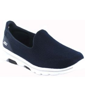 Skechers Go Walk 5 W Navy Skechers Shoes Women's Casual Lifestyle Sizes: 39, 40, 41, 37, 38; Color: navy blue