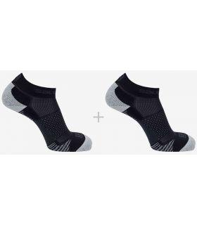 Salomon Calcetines Running Cros 2 Pack Negro Salomon Calcetines Running Zapatillas Running Tallas: 36 / 38, 39 / 41, 42