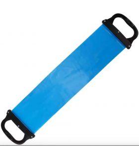 Banda Elastica Pilates / Yoga con Asas Van Allen Pilates Fitness Color: azul