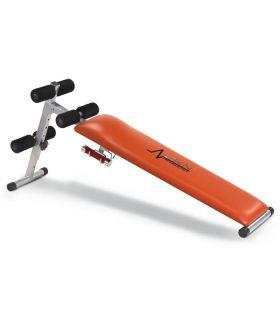 DKN Banco Abdominales Slant Board DKN Bancos y Abdominales Fitness Color: naranja