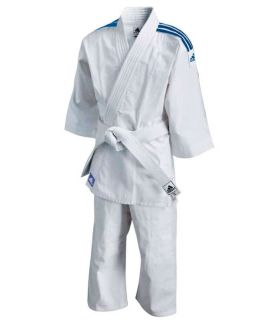Adidas Kimono Judo J180 Adidas Junior Kimono Judo Judo Sizes: 110 cm, 120 cm, 150 cm, 160 cm; Color: white