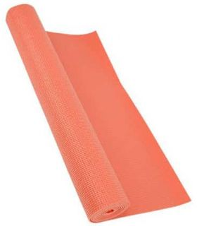 Softee Mat Pilates Yoga Deluxe 4mm Coral Softee Mats fitness Fitness Color: pink