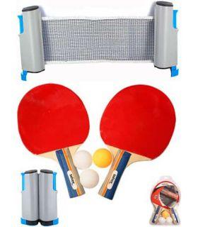 Set Ping Pong Deluxe Van Allen Blades Tennis Table Tennis Table Color: red