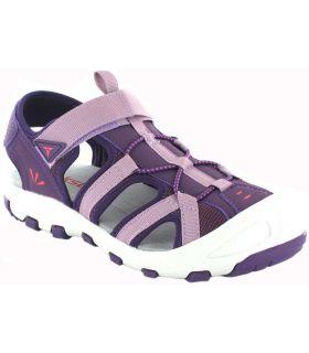 Treksta Hauula Purple TrekSta Sandals / Flip Flop Junior's Footwear Mountain Carvings: 30, 31, 32, 33, 34, 36, 37, 38, 39