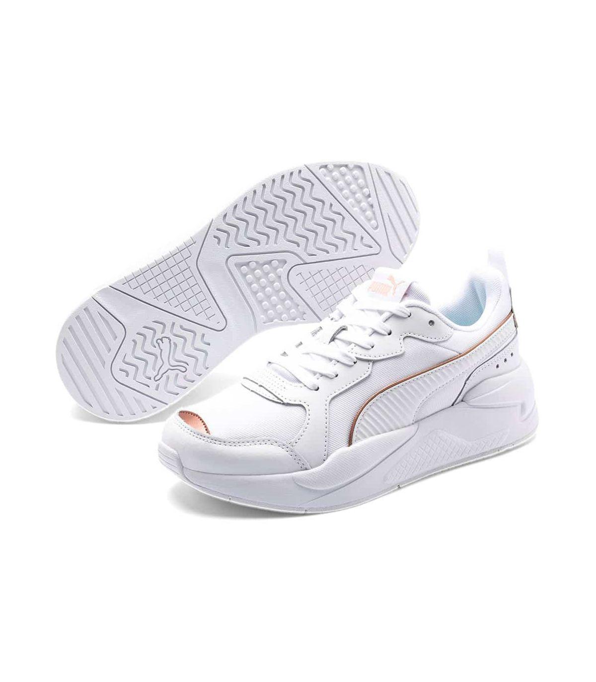 Puma X-Ray Metallic White Sizes 41