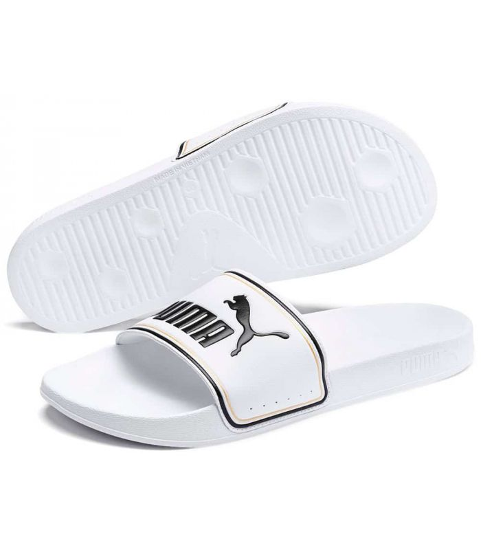 Puma flip Flops Leadcat FTR White - Shop Sandals / Flip-Flops