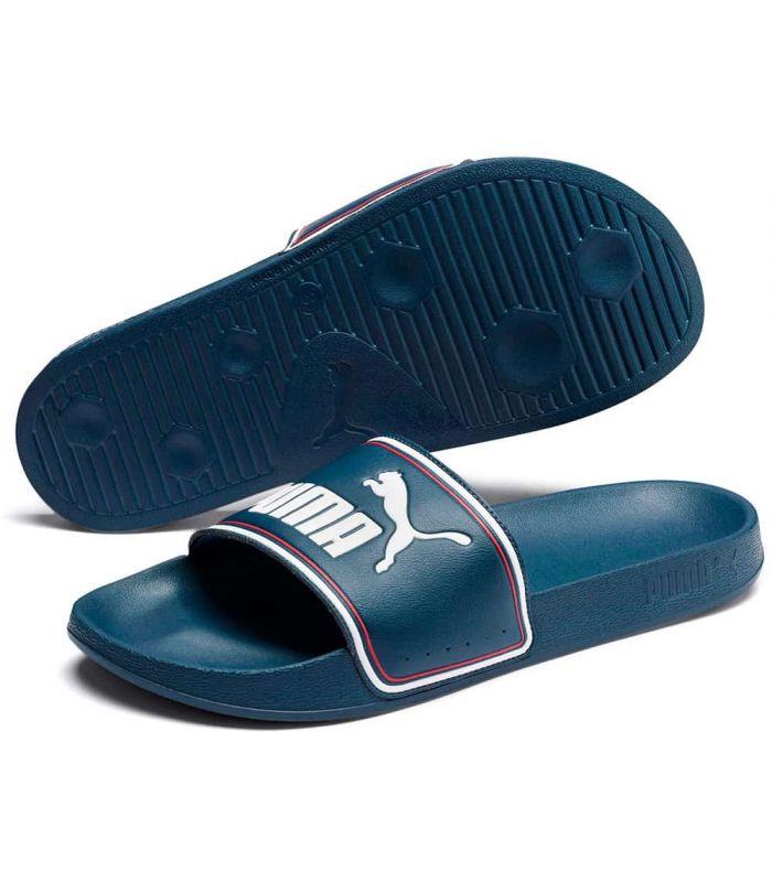 Puma flip Flops Leadcat FTR Blue - Shop Sandals / Flip-Flops Man