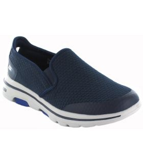 Skechers Go walk 5 Apprize Navy Skechers Shoes Casual Man Lifestyle Sizes: 42, 43, 44, 45, 46; Color: blue