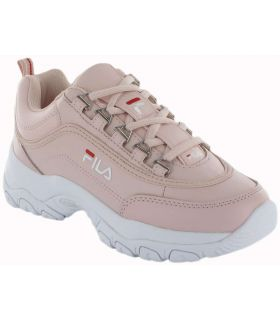 Row Strada Low W Pink Fila Shoes Women's Casual Lifestyle Sizes: 36, 37, 38, 39, 40, 41; Color: pink