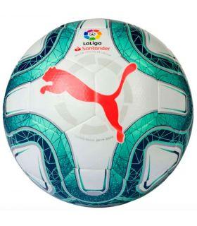 Puma Balón de fútbol La Liga Hybrid Puma Balones Fútbol Fútbol Color: blanco