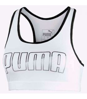 Puma sports Bra 4Keeps Mid Impact White