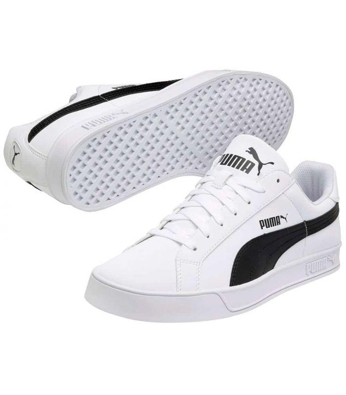 Puma Smash Vulc White Sizes 41 Color Blanco