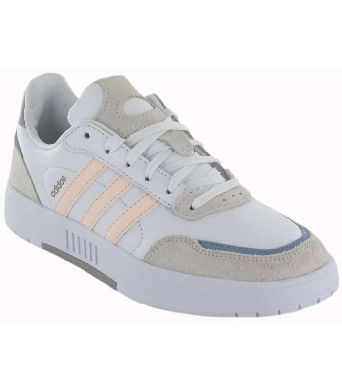 Chaussures Casual Femme-Adidas Courtmaster Blanc l Todo-Deporte ...