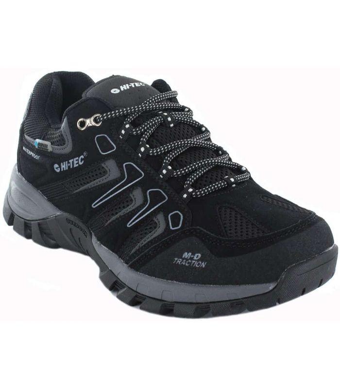 Zapatillas Trekking Hombre - Hi-Tec Torca Low WP negro Calzado Montaña