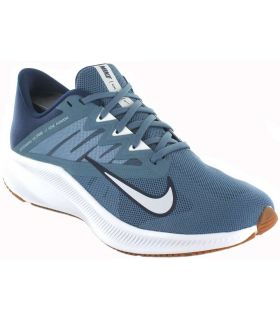 Zapatillas Running Hombre - Nike Quest 3 008 azul Zapatillas Running