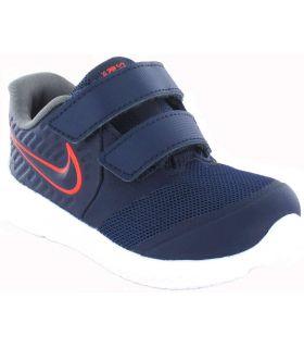 Zapatillas Running Niño - Nike Star Runner 2 TDV 405 azul marino Zapatillas Running