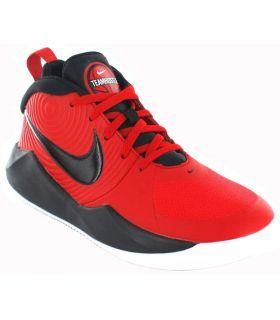 Zapatillas Baloncesto - Nike Team Hustle D 9 rojo Calzado