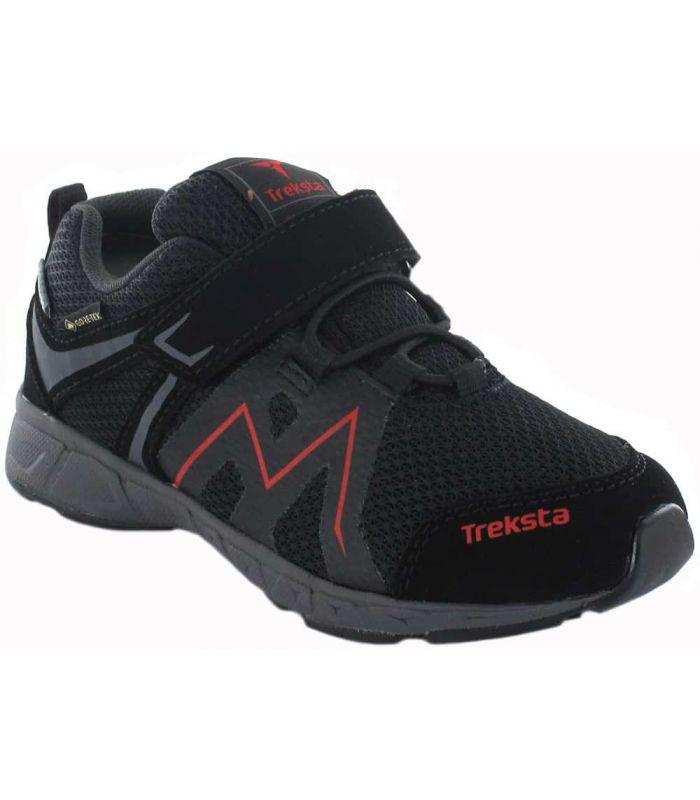 Treksta Speed Low Velcro Negro Gore-Tex - Zapatillas Trekking Niño