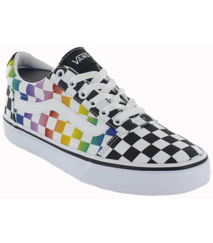 Vans Ward W Rainbow - Casual Chaussure Femme l Tailles 36 Couleur ...
